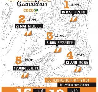 Challenge grenoblois: résultats de l'étape du 22 mai 2019