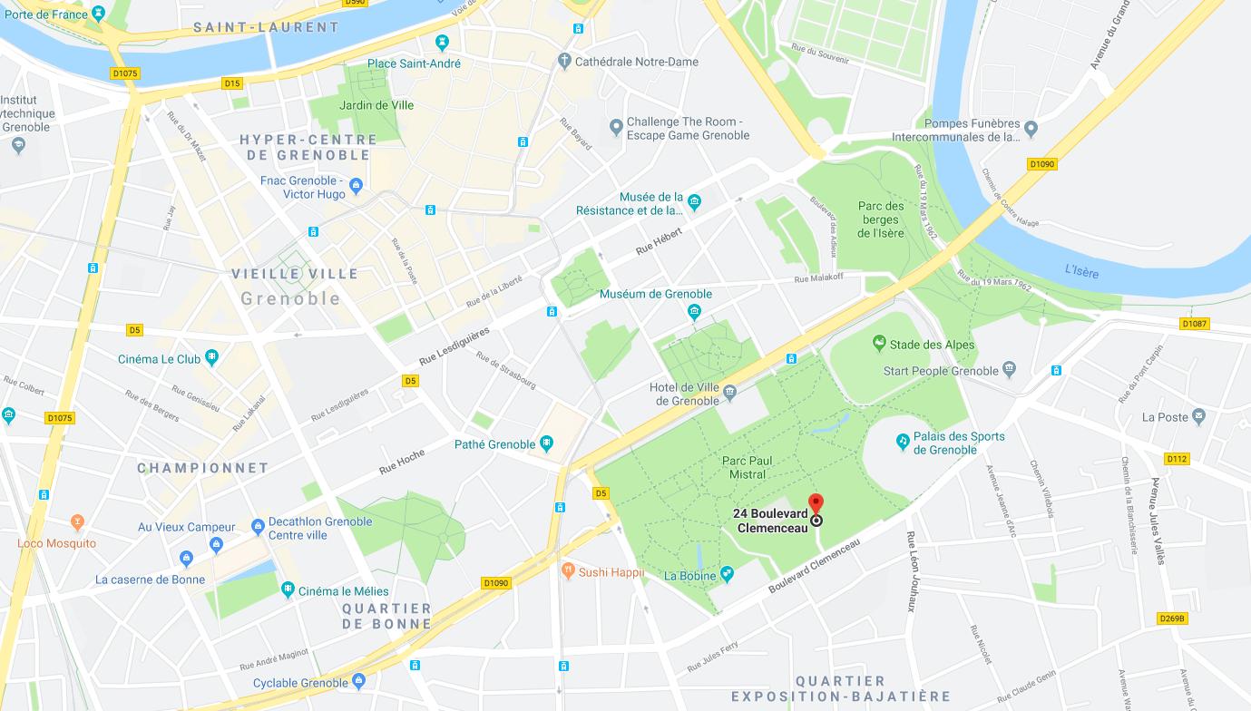 Parc Paul Mistral - Anneau de Vitesse